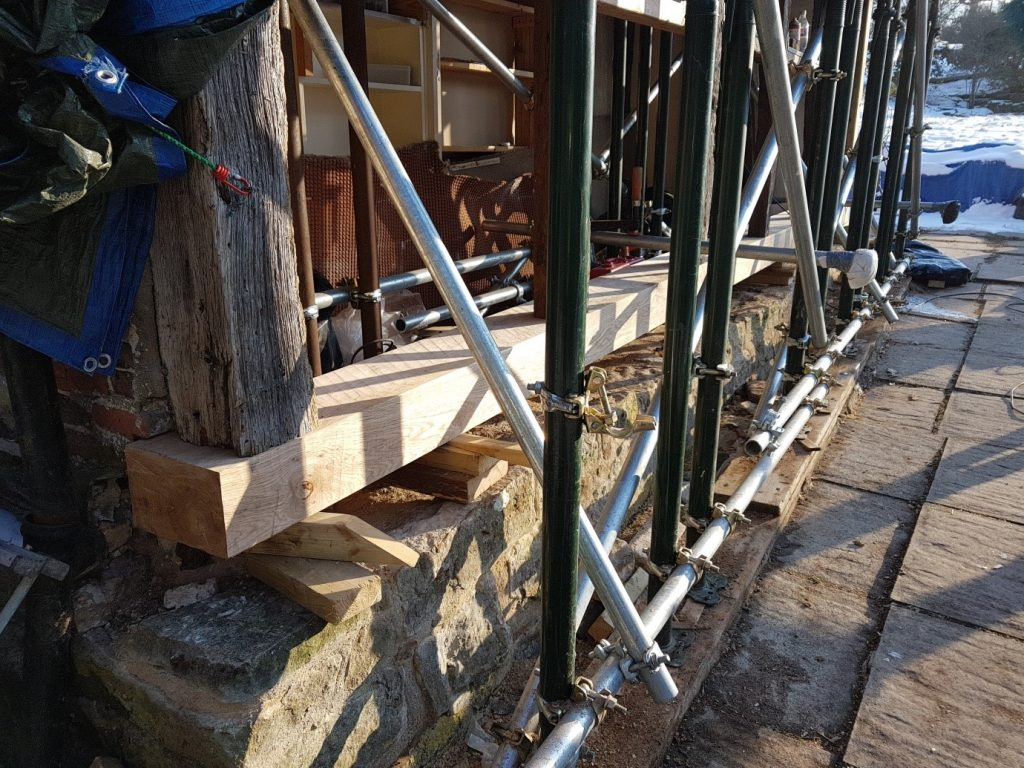 oak framed building repair London, Surrey, Sussex