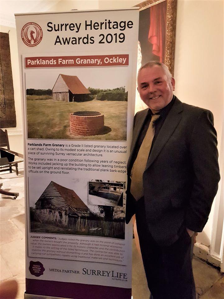 Surrey Historic Buildings Trust award winner